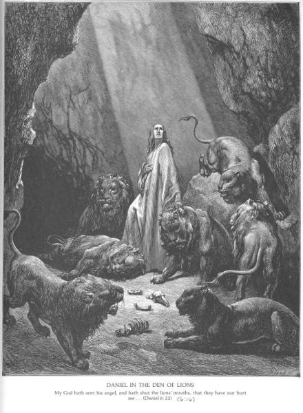 daniel-in-the-den-of-lions-by-gustave-dore - Mormon Bible