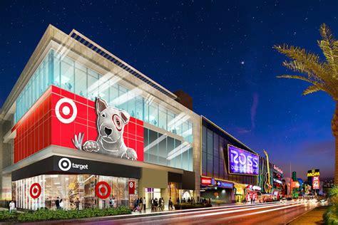 target burlington  open stores  las vegas strip las