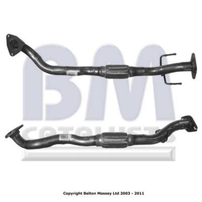 exhaust for fiat punto aps50132 exhaust pipe for fiat punto grande punto 1 9