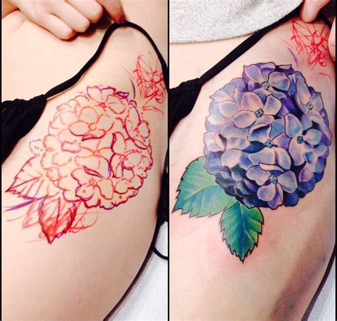 hydrangea tattoo 17 best ideas about hydrangea on