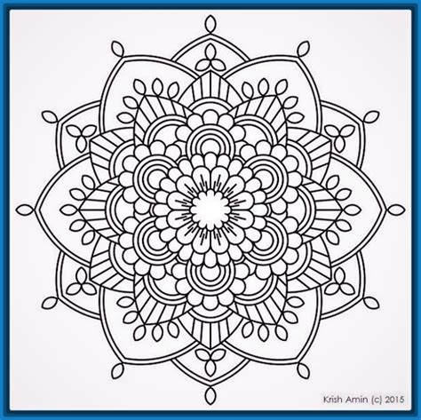 imagenes flor mandala mandalas de flores para colorear e imprimir archivos
