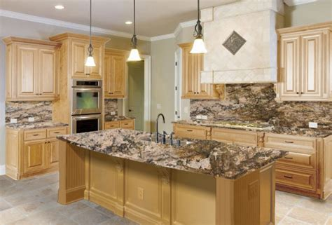 light granite countertops with white cabinets the right granite countertops for your maple cabinets