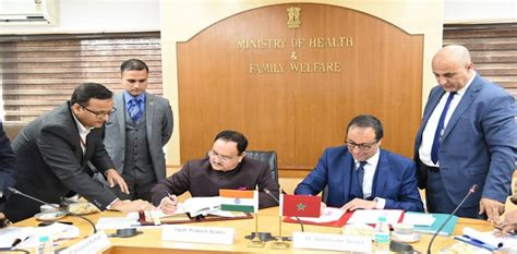 Union College Mba Healthcare by India Morocco Sign Mou For Enhanced Cooperation In Healthcare