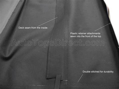 mazda miata replacement convertible top