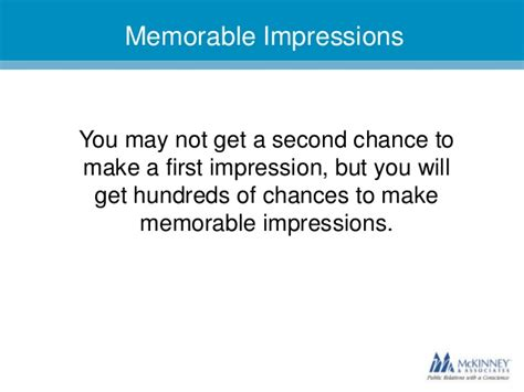 7 Ways To Make A Impression by Trade Tips 7 Ways To Make A Memorable Impression