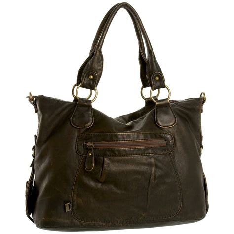 Cecelia Elizabeth Bags oioi brown leather bag products i