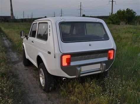 Lada Niva Club Lada Niva With Custom Front And Rear Fascias Looks