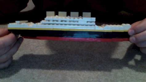 film titanic lego building the lego titanic youtube