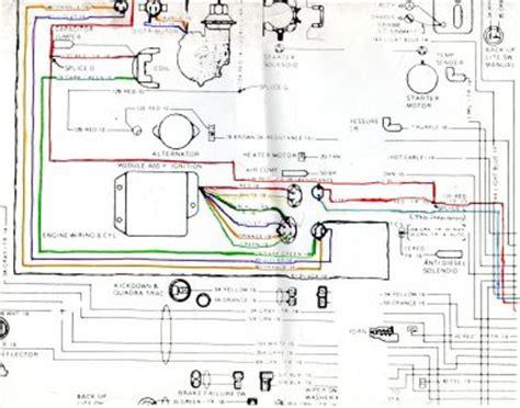 jeep cj ignition wiring diagram wiring diagram