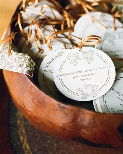 Wedding Favors Ornaments by 24 Unique Winter Wedding Favor Ideas Martha Stewart Weddings