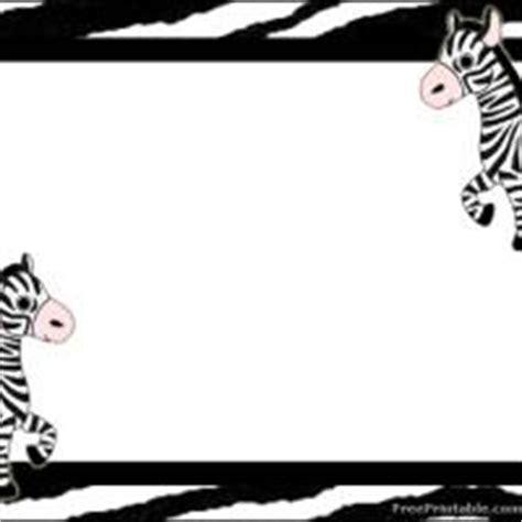 free printable zebra print name tags zebra label