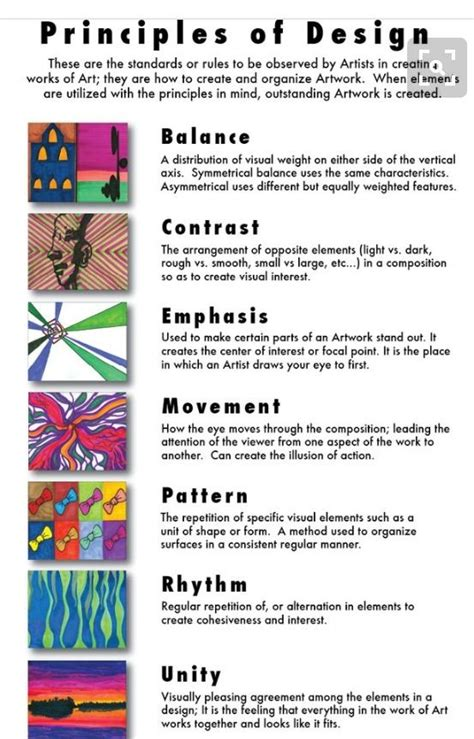 freebie elements and principles of art and design matrix tpt 82 best elements and principles of design images on