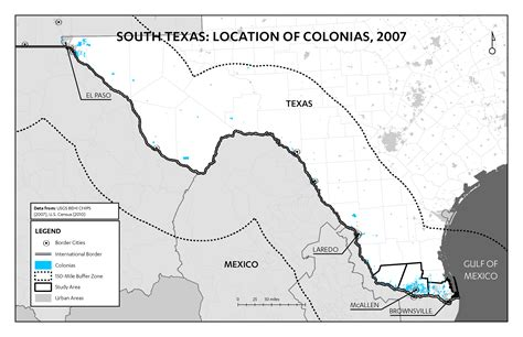map texas mexico border the forgotten americans a visual exploration of lower grande valley colonias