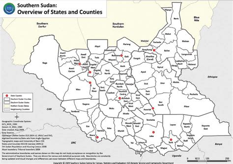 south sudan map maps of south sudan erininjuba