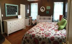 suburbs nursery in master bedroom baby nursery