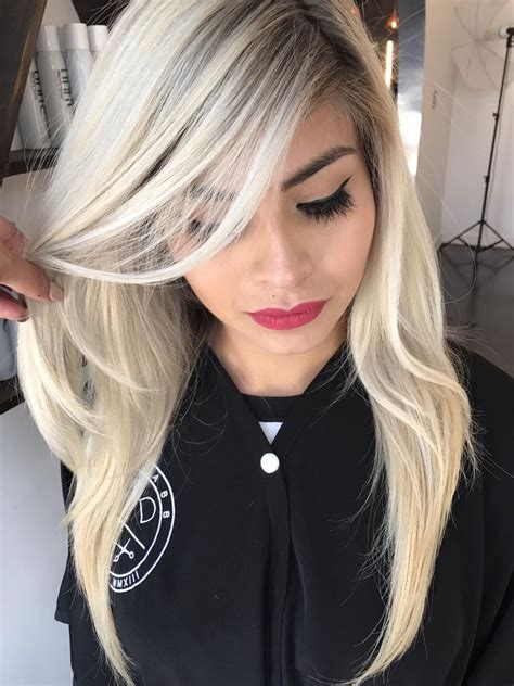 icy pearl blonde behindthechaircom