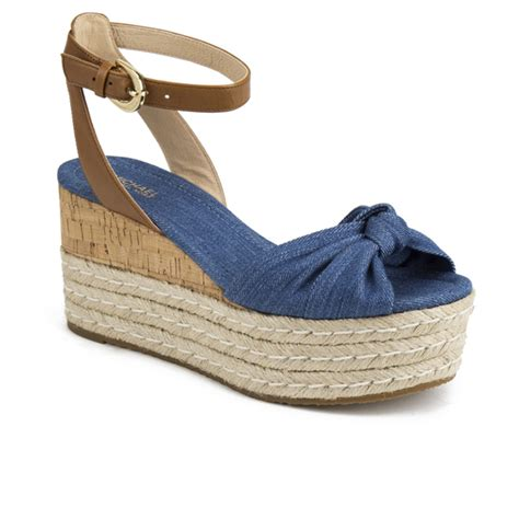 michael michael kors s maxwell mid wedge sandals