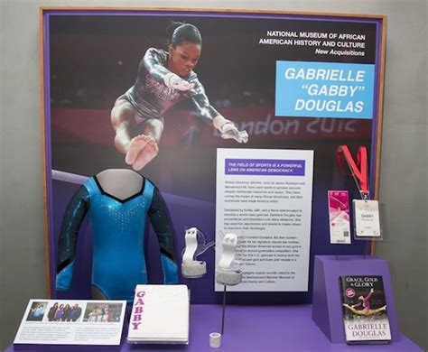 gymnast gabrielle douglas donates olympic items to smithsonian cbs dc two time gold medalist gabby douglas talks big dreams big
