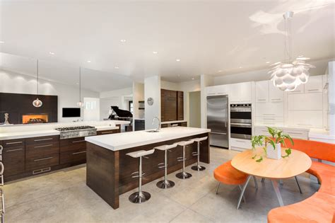 kitchen breakfast bar designs kitchens with breakfast bars 100 s of designs