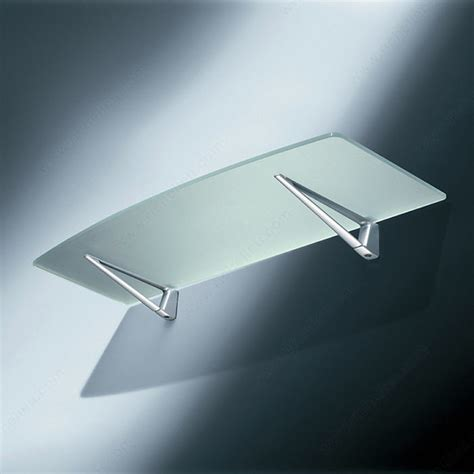 Through Glass Shelf Support by Glass Wood Wall Shelf Support Richelieu Hardware