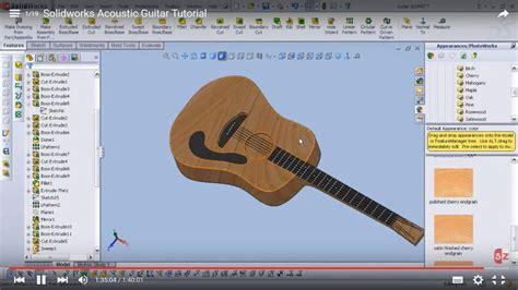solidworks tutorial how to make guitar solidworks zen
