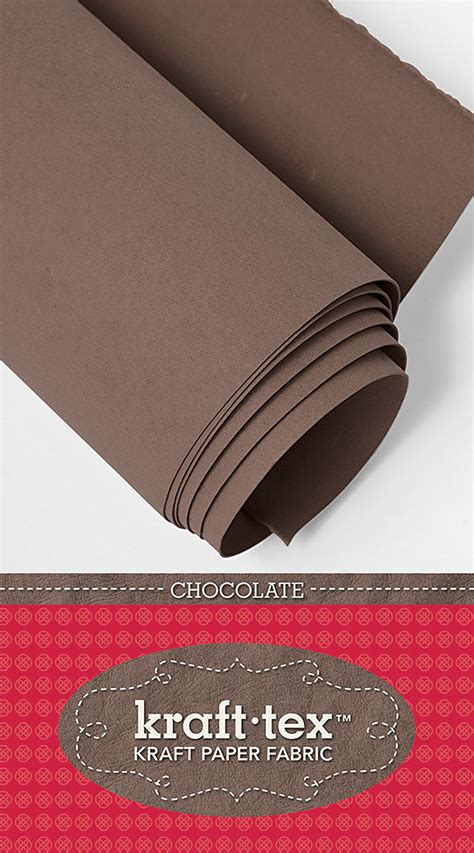 Waterproof Craft Paper - kraft tex kraft paper in chocolate
