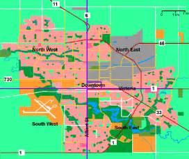 Regina Canada Map by Regina Map