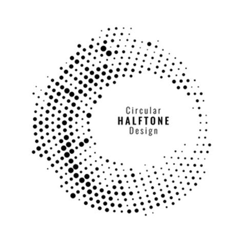 create a halftone dot pattern in illustrator turn a gradient halftone vectors photos and psd files free download