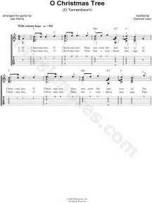 traditional quot o christmas tree quot guitar tab in c major
