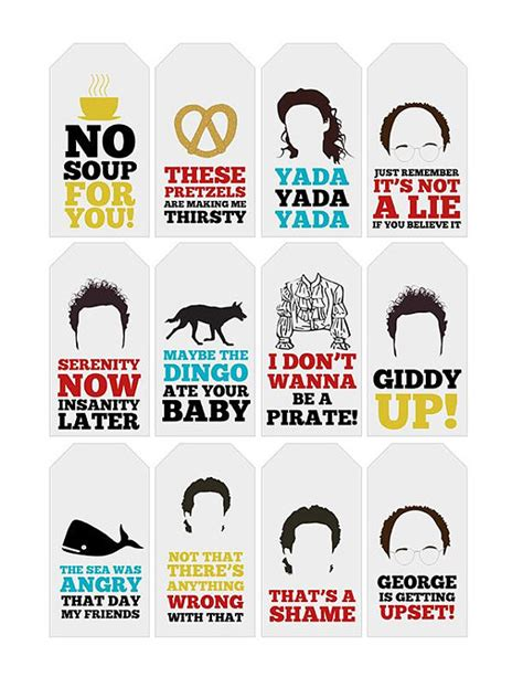 Printable Seinfeld Quotes