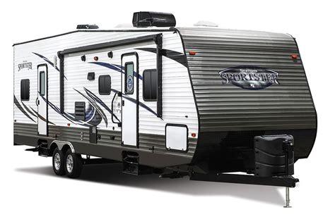 kz rv travel trailers fifth wheels toy haulers 2016 sportsmen sportster 30th12 travel trailer toy hauler