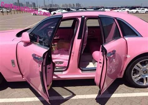 roll royce pink pink rolls royce ghost is why some car makers screen their