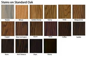 Barn Wood Stain Colors Stain Chart