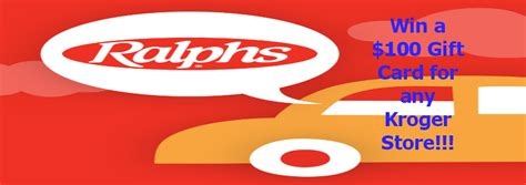 Ralphs Grocery Gift Cards - enter to win a 100 grocery gift card giveaway for ralphs and krogers page 2 of 2