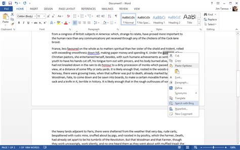 What Is Lookup How To Search With In Microsoft Word Tekrevue