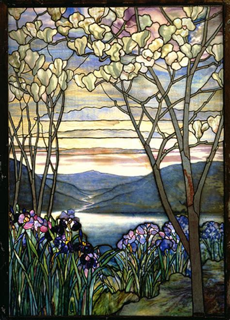 louis comfort tiffany stained glass windows louis comfort tiffany stained glass magnolias irises