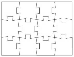 Blank Jigsaw Template by Blank Jigsaw Puzzle Template White Gold