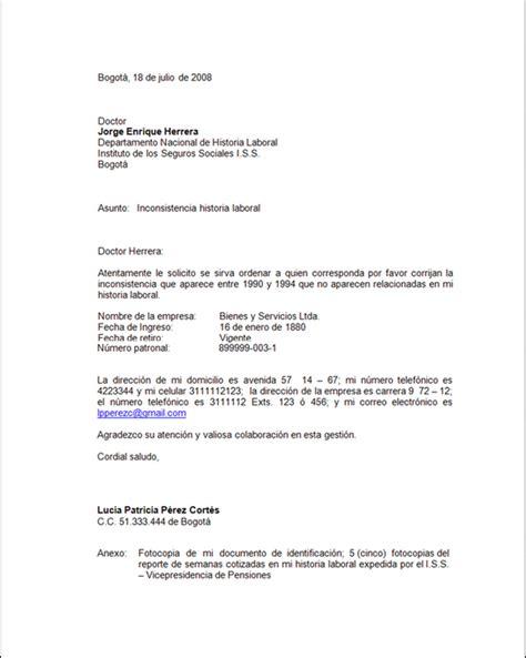 Carta De Empleo Estilo Bloque
