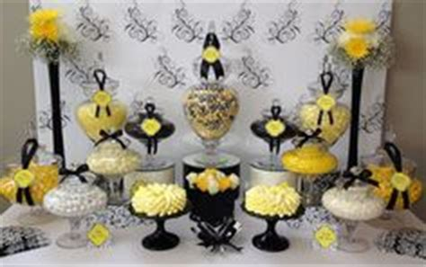 black and gold buffet ls amazing yellow and black centerpiece striking look