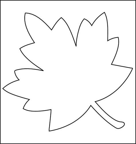 autumn leaf template free printables printable leaf two fall leaves coloring page free pages