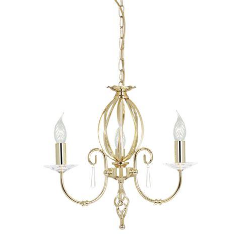 Chandelier 3 Light Elstead Lighting Aegean 3lt Chandelier Polished Brass Luxury Chandeliers Uk
