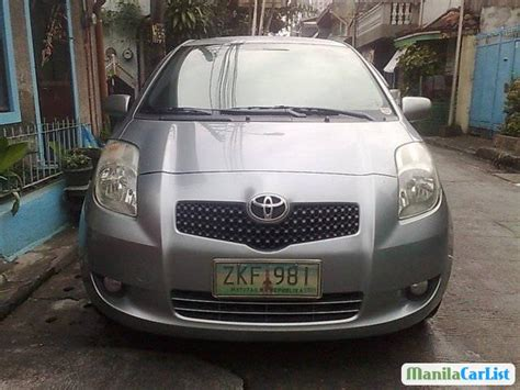 manual cars for sale 2007 toyota yaris user handbook toyota yaris manual 2007 for sale manilacarlist com 398864