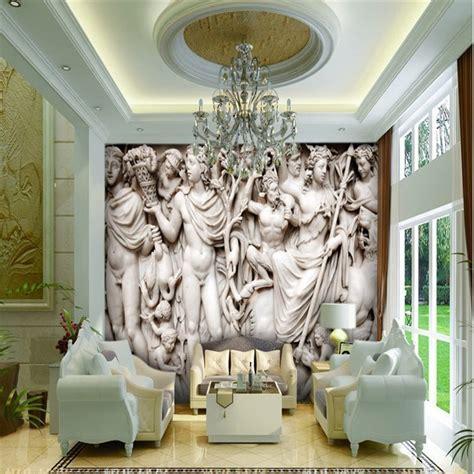 beibehang custom mural 3d wallpaper european sculpture like retro wallpaper for living room
