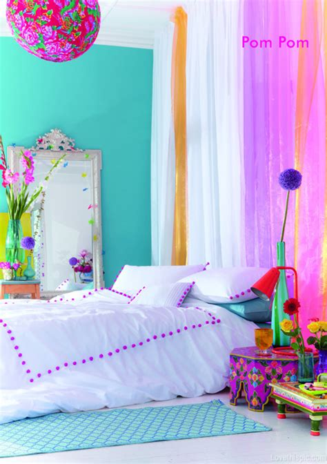 colorful bedroom curtains bright colored bedrooms on pinterest room dividers kids