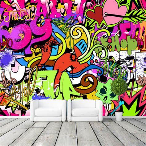 street art bedroom graffiti boys urban art photo wallpaper custom wall mural street culture wallpaper