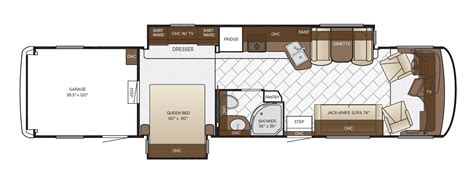 newmar floor plans canyon star floor plan options newmar