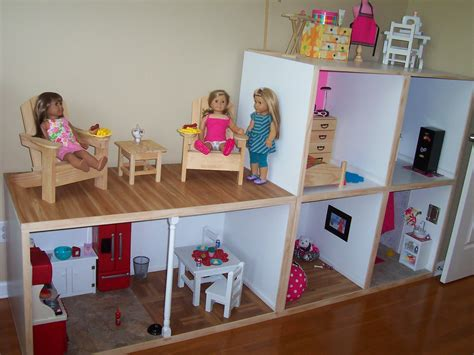 american girl dolls houses gigi s doll and craft creations american girl doll house custom built