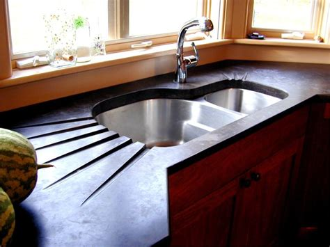 Concrete Kitchen Countertops Simple And Durable Concrete Kitchen Countertops The New Way Home Decor