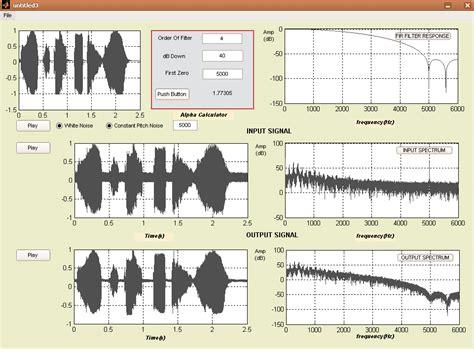 high pass filter noise high pass filter noise reduction 28 images types of filter noise reduction gui using low