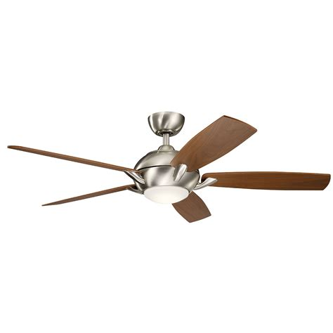 54 inch ceiling fan geno brushed stainless steel 54 inch led ceiling fan